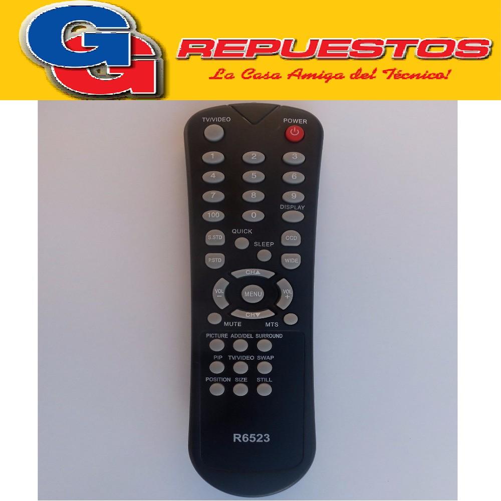 CONTROL REMOTO REMOTO AUDINAC  ADMIARAL CON PIP 3523