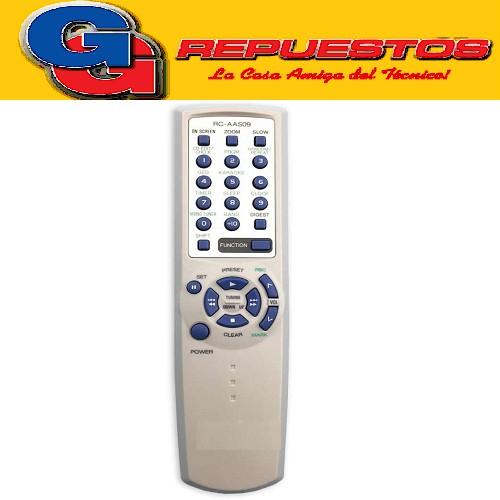 CONTROL REMOTO EQUIPO DE AUDIO AIWA RC-ZAS02 (2465)A754