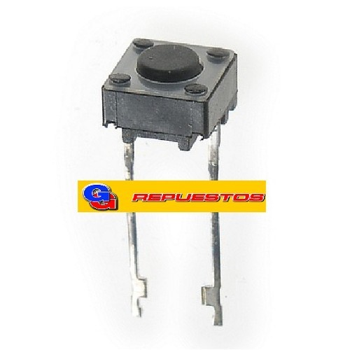 MICROSWITCH TSPL5 TACT SWITCH 2 PATAS LARGA 6X6 CUADRADO 5.1mm