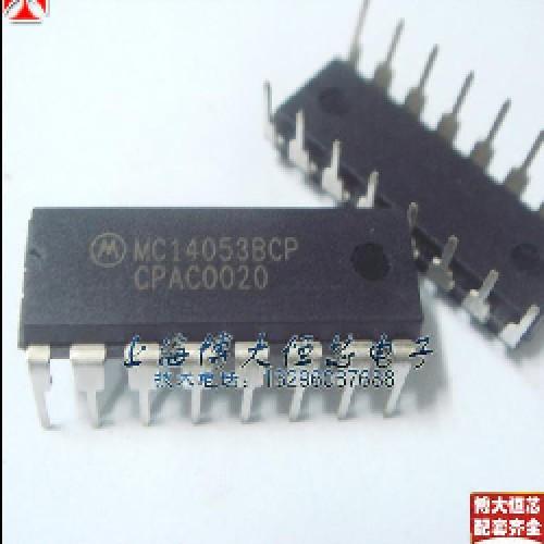 CIRCUITO INTEGRADO MC14053BCP (18V - 25MA - 500MW)