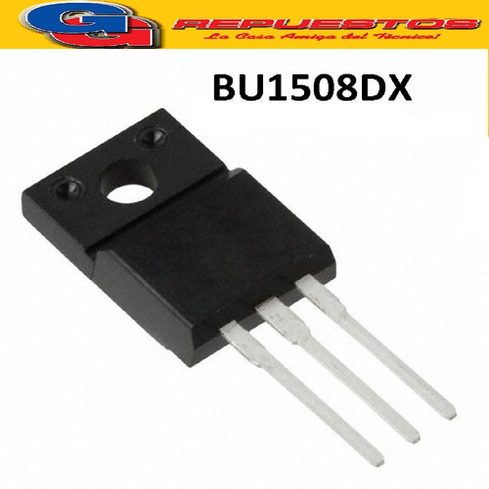 BU1508DX TRANSISTOR NPN (700V - 8A - 35W) SOT186