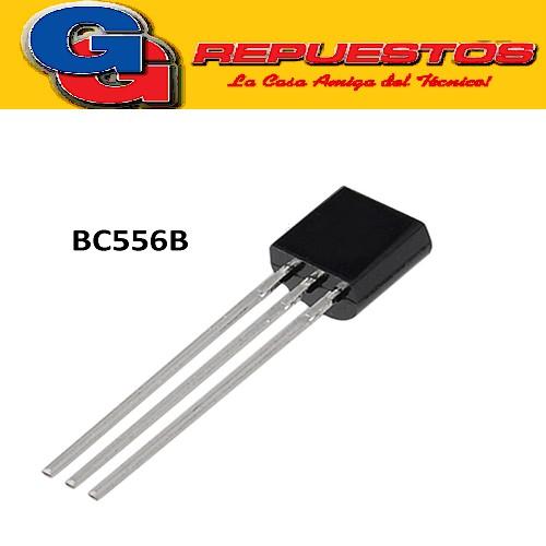 BC556B TRANSISTOR PNP (65V/100MA/500MW)