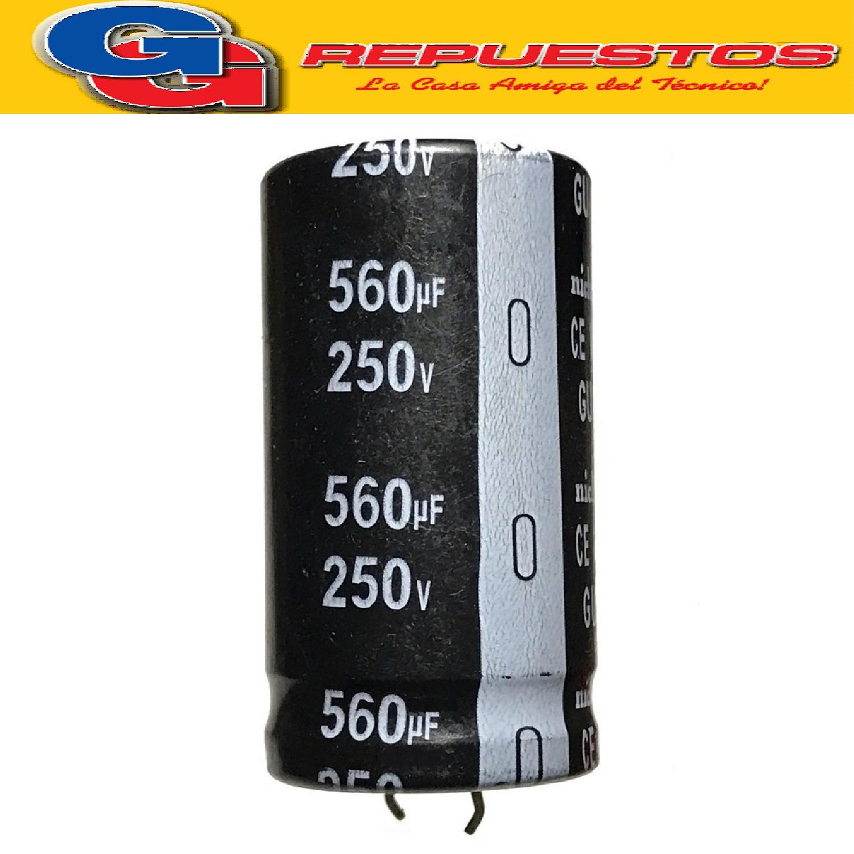 CAPACITOR ELECTROLITICO 560uFX250V