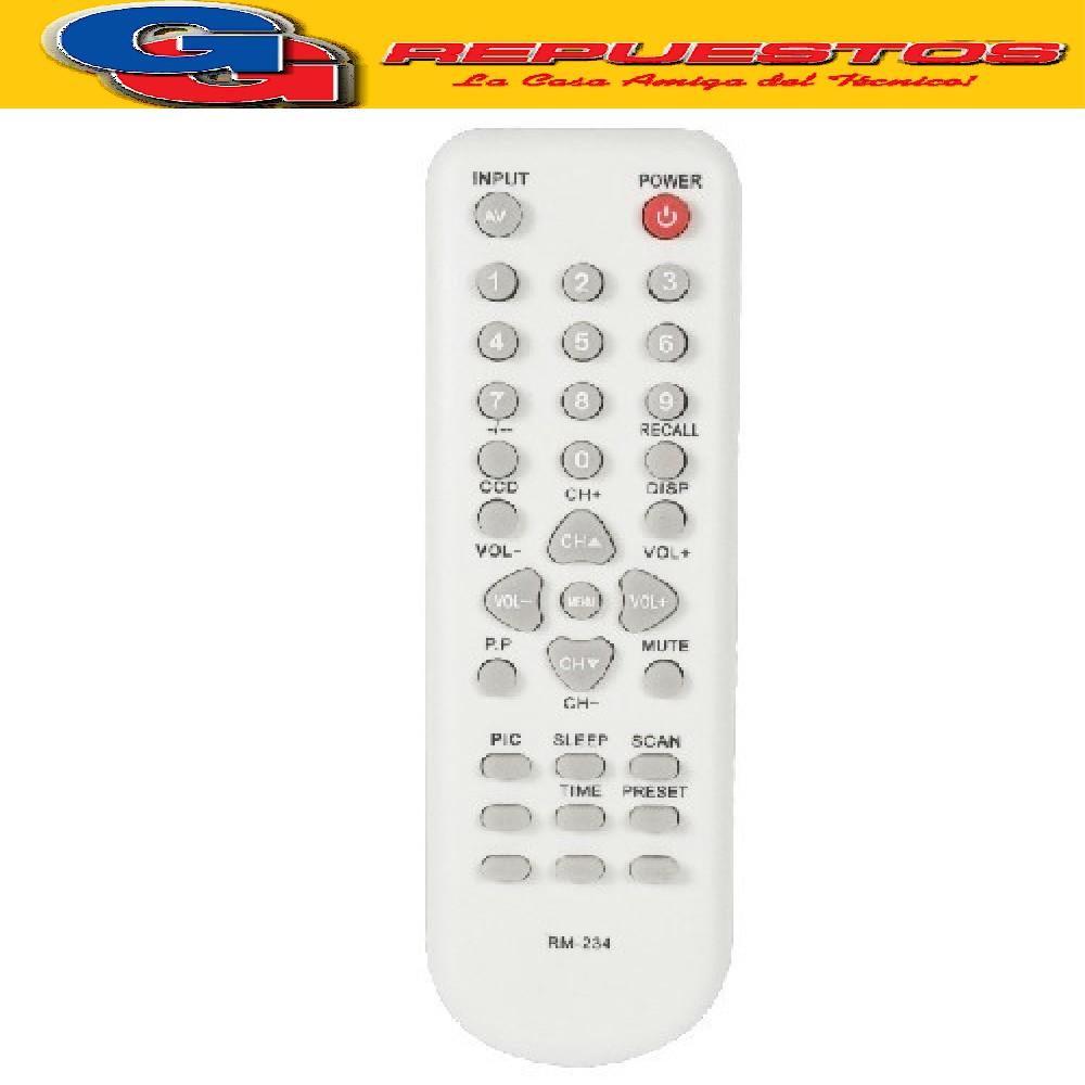 CONTROL REMTO PHILCO DAEWO 3126 R48C04 R-48C04