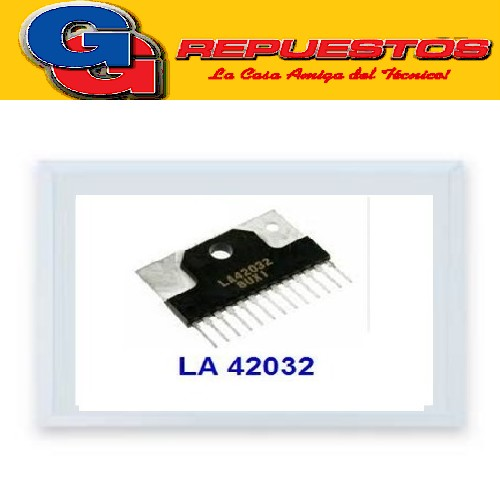 CIRCUITO INTEGRADO LA42032 DE AUDIO Audio Output for TV application 5W X 2ch Power Amplifier