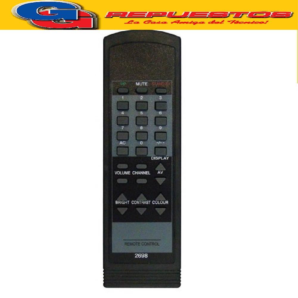 CONTROL REMOTO PHILIPS TRENSET 2698