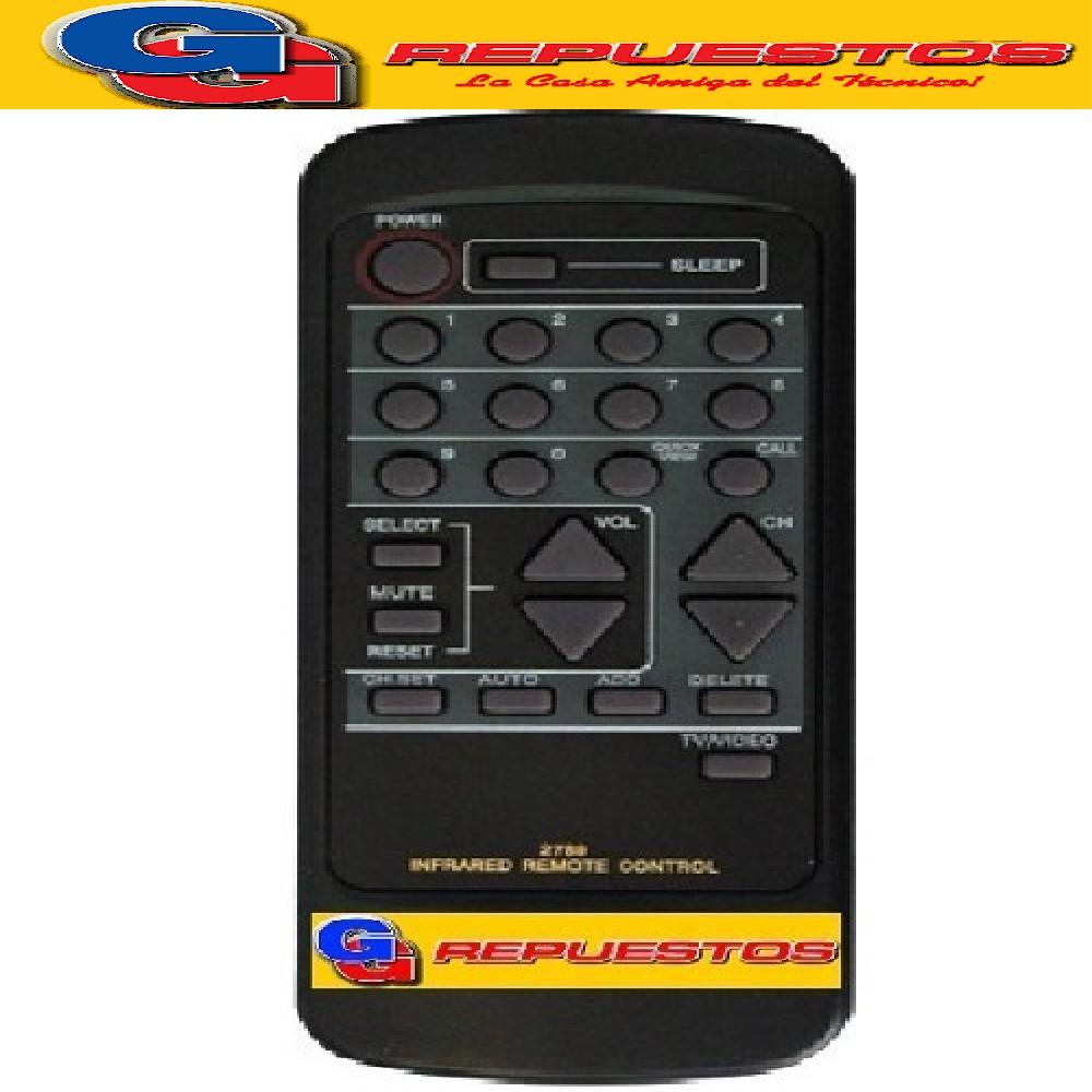 CONTROL REMOTO KEN BROWN KB702 2789