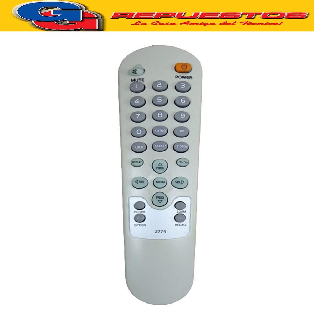 CONTROL REMOTO TV  HOWLAND R4774 2774