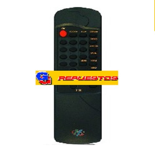 CONTROLE REMOTO TV  CROWN MUSTANG R6129 3129