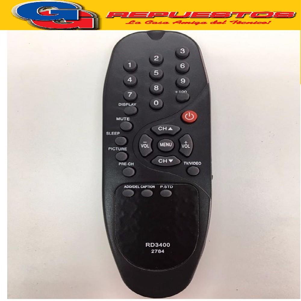 CONTROL REMOTO TV HITACHI BANANITA 3165 HITBAN