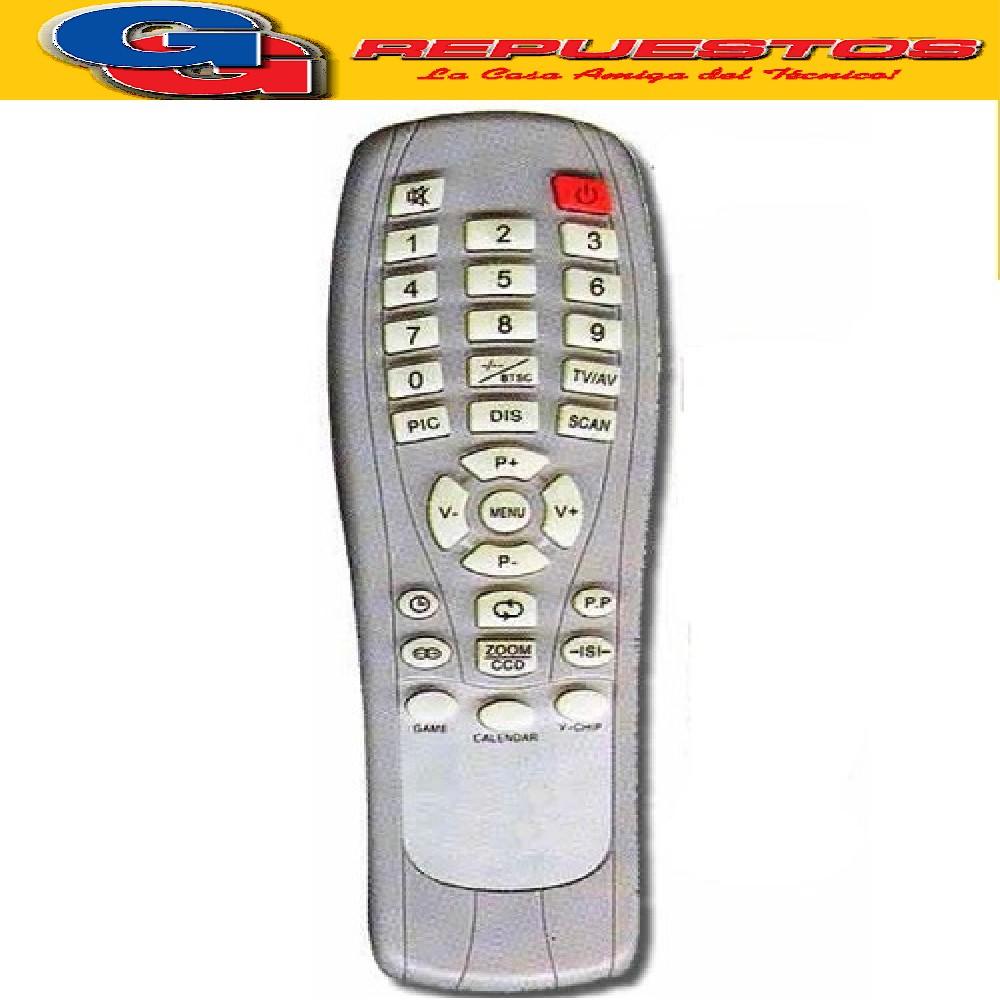 CONTROL REMOTO TV TONOMAC TOP HOUSE RC88 2822 FUNCIONA IGUAL AL 2666 TOP1= AC2006= R4976