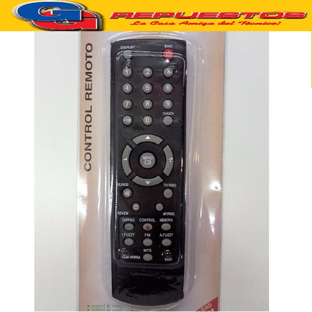 CONTROL REMOTO HIITACHI RCA R6525 3525/ 3535