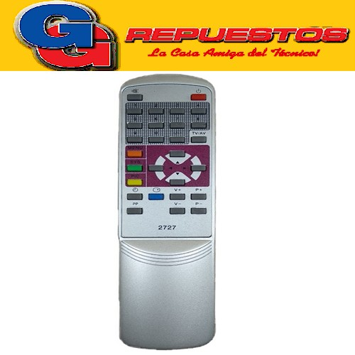 CONTROL REMOTO TV DURABRAND TOP HOUSE (2727) TOP2 R4727