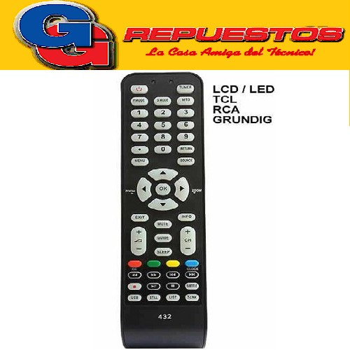 CONTROL REMOTO LED-LCD TCL NUEVO 3824