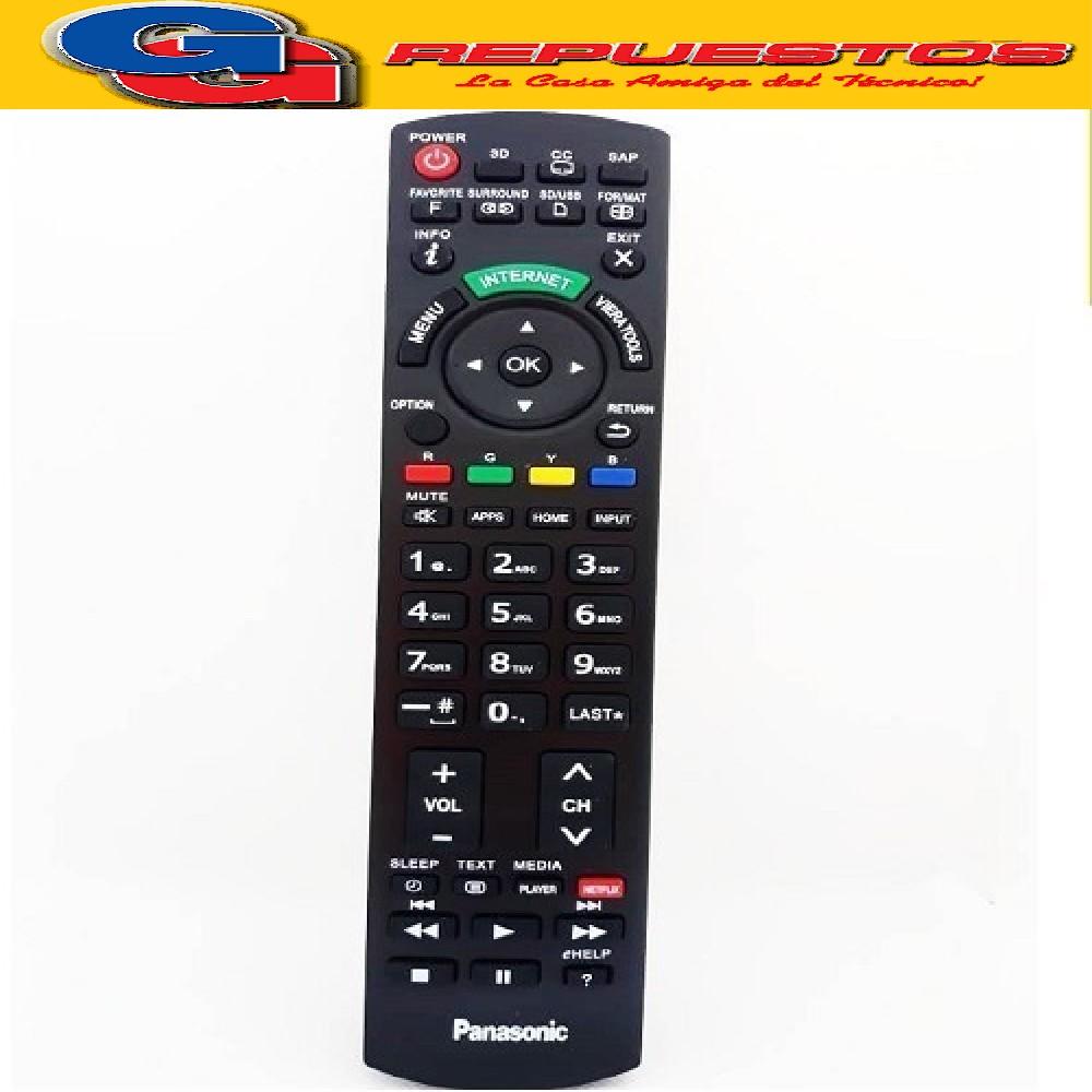 CONTROL REMOTO LED SMART PANASONIC LCD440