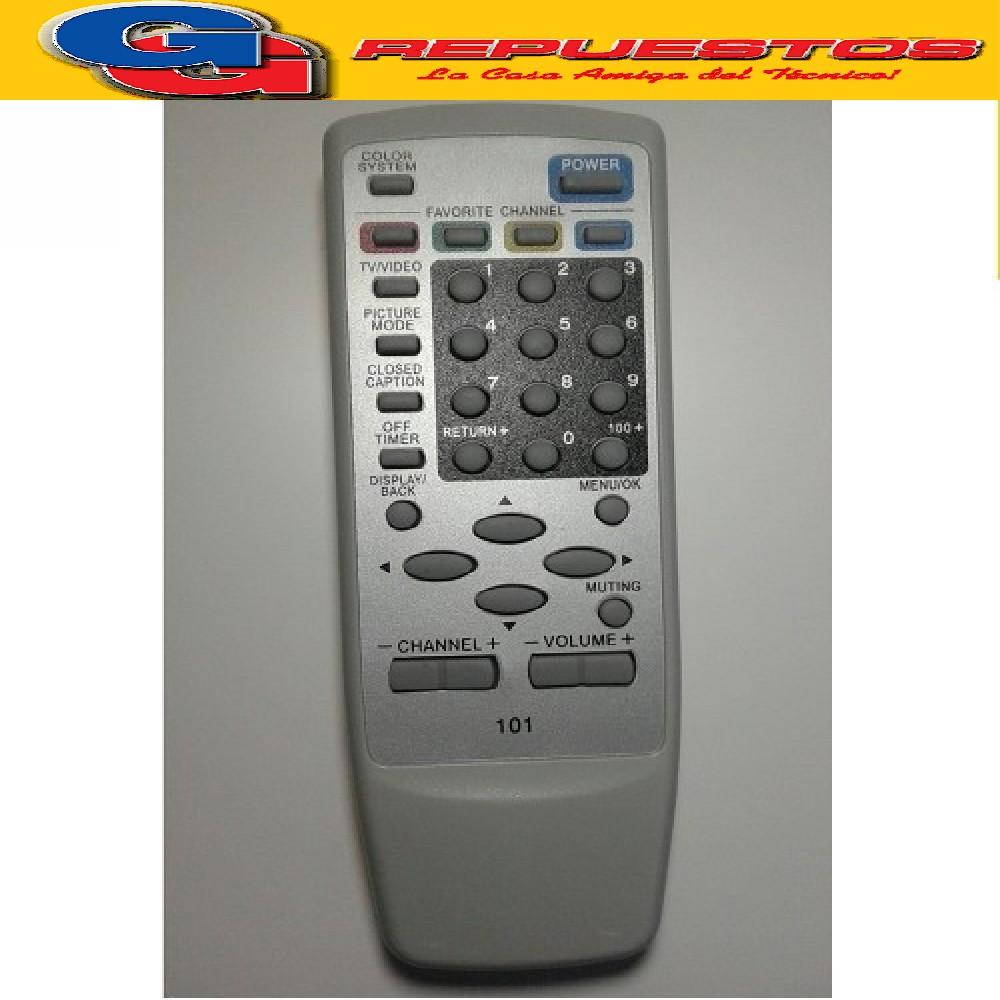 CONTROL REMOTO TV JVC RMC1265 (2821) TV101