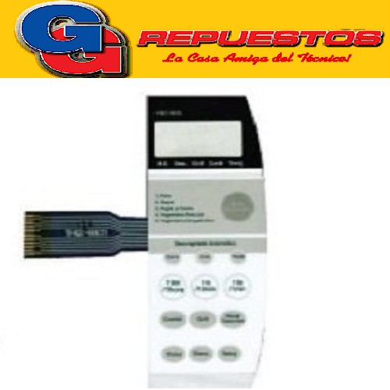 TECLADO PANEL DE MICROONDA MO255 KQG-868G