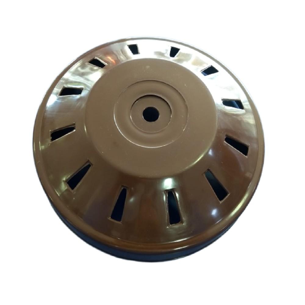 CAPUCHON CUBREMOTOR INFERIOR VENTILADOR DE TECHO MARRON