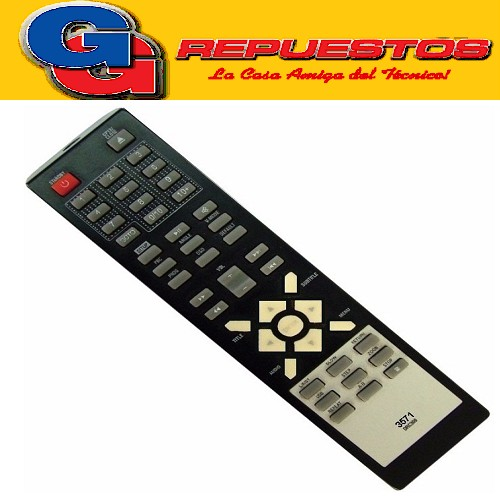 CONTROL REMOTO DVD RCA - TCL- HITACHI  3571