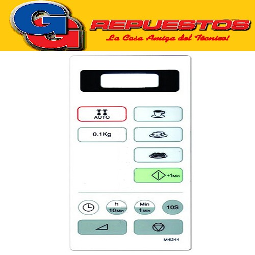 TECLADO MICROONDAS MD132 M6244 NOBLEX 3059