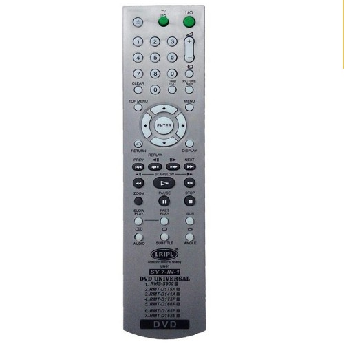 CONTROL REMOTO DVD SONY GRIS  RMT-D175A 2835 SIMILAR A SONY