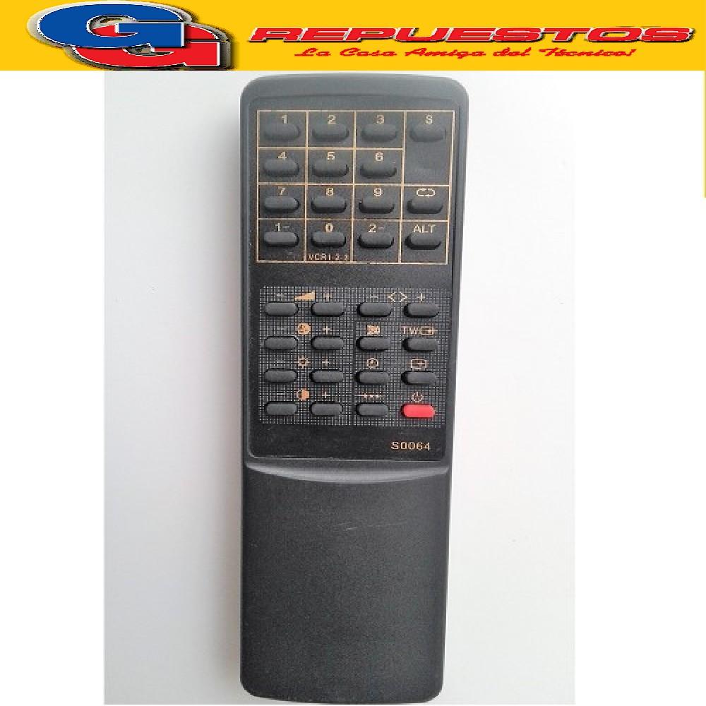 CONTROL REMOTO TV SANYO (2448) 4AA4UIT0064 S0064
