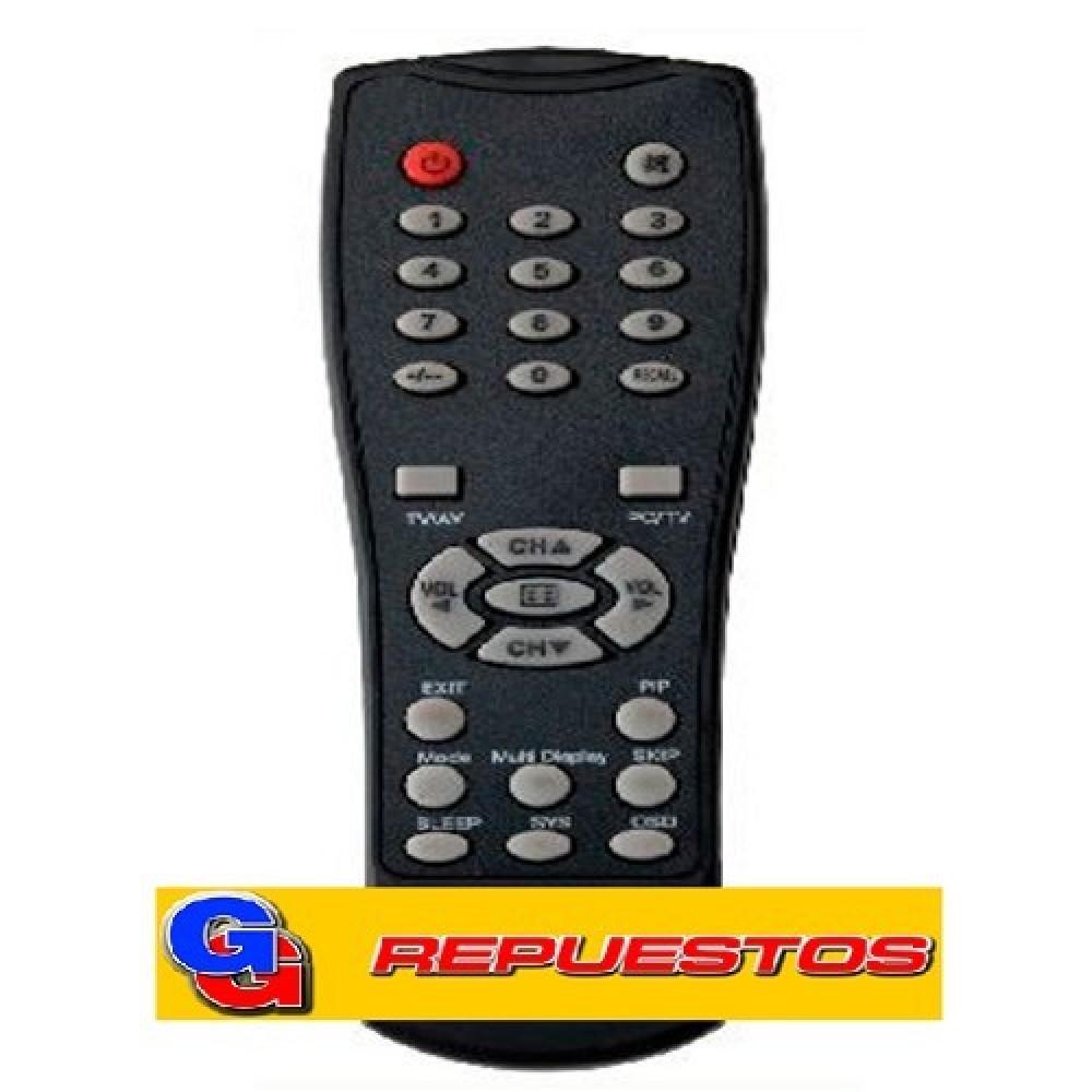 CONTROL REMOTO PLACA SINTONIZADORA ENCORE R6550