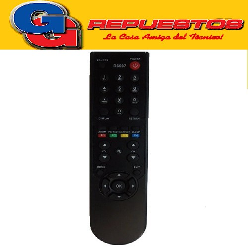 CONTROL REMOTO LCD TCL R6587 3587