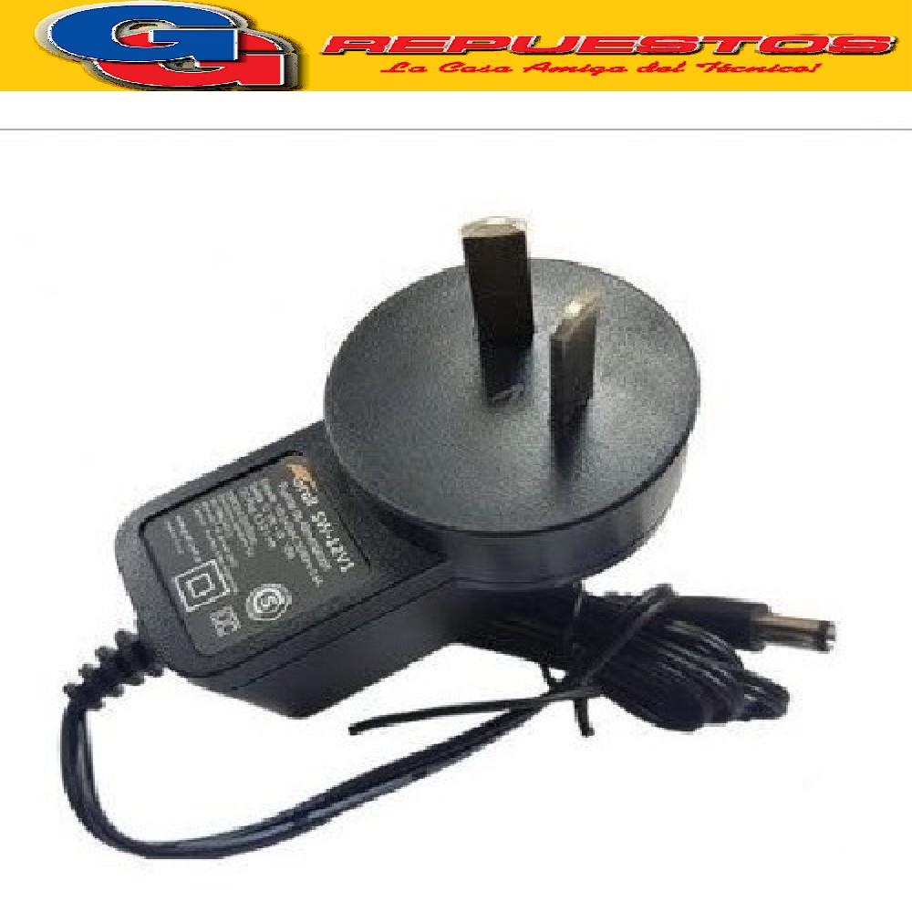 FUENTES 12V 1AMP SWITCHING PLUG 2,1MM CON CAMBIO DE POLARIDAD SP1201-