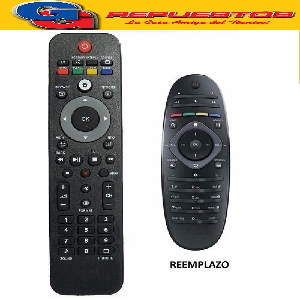 CONTROL REMOTO LCD/LED PHILIPS CASITA 3593 R6593