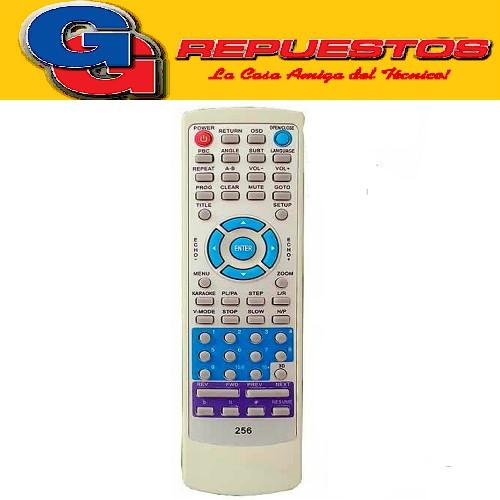 CONTROL REMOTO DVD REGRABADORA SUZUKI