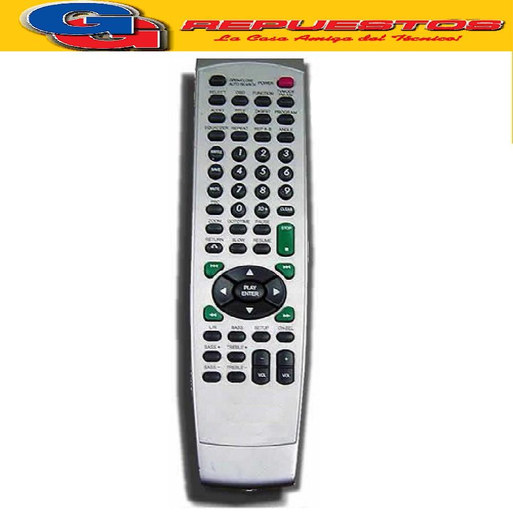 CONTROL REMOTO DVD NOBLEX 2806