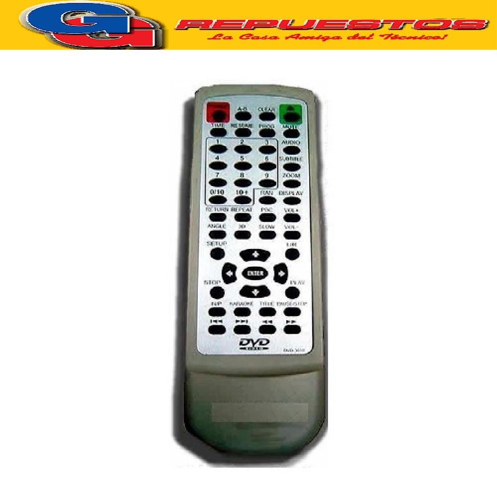CONTROL REMOTO DVD BLUESKY 2797 DVD810 MK TECH NISATO
