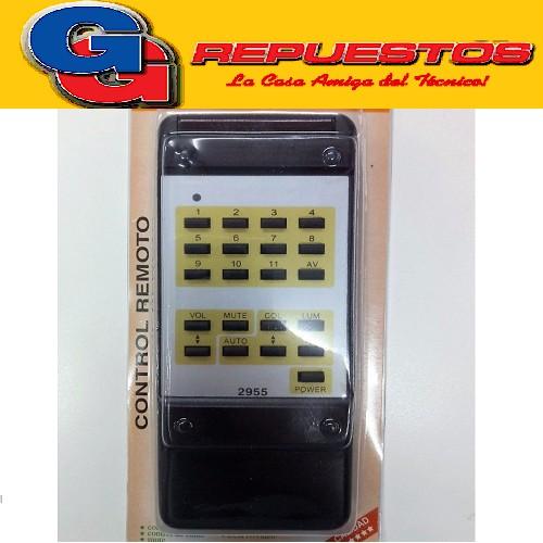 CONTROL REMOTO TV PHILCO NEC 2955