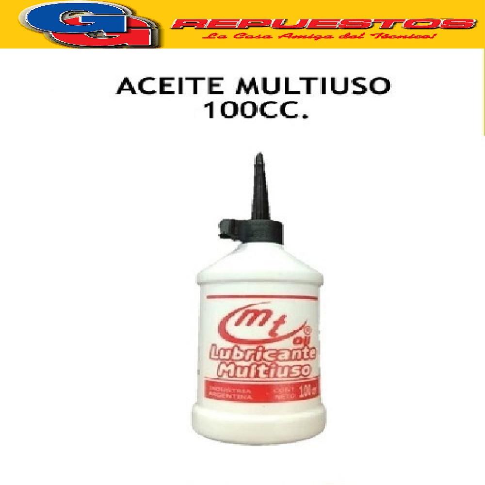 ACEITE MT MULTIUSO FRASCO x 100 ML , ACEITE MAQUINA DE COSER