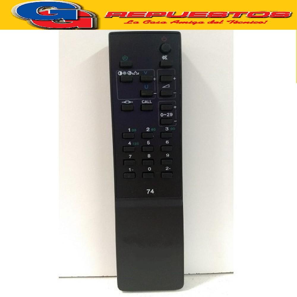 CONTROL REMOTO TV CT9640 TOSHIBA (2871) 29CH CT9640