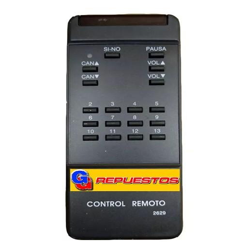 CONTROL REMOTO TV NOBLEX 650 2629