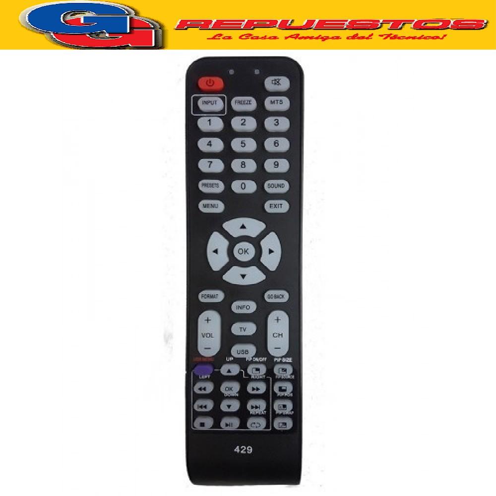CONTROL REMOTO LCD RCA 3549 LCDRCA R6549