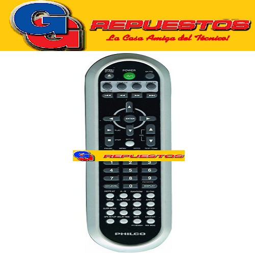 CONTROL REMOTO DVD NOBLEX MP2110 ORIGINAL 2809