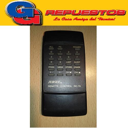 CONTROL REMOTO CONVERSOR ANTEMONT / JEBSEE EUSCC70  3592