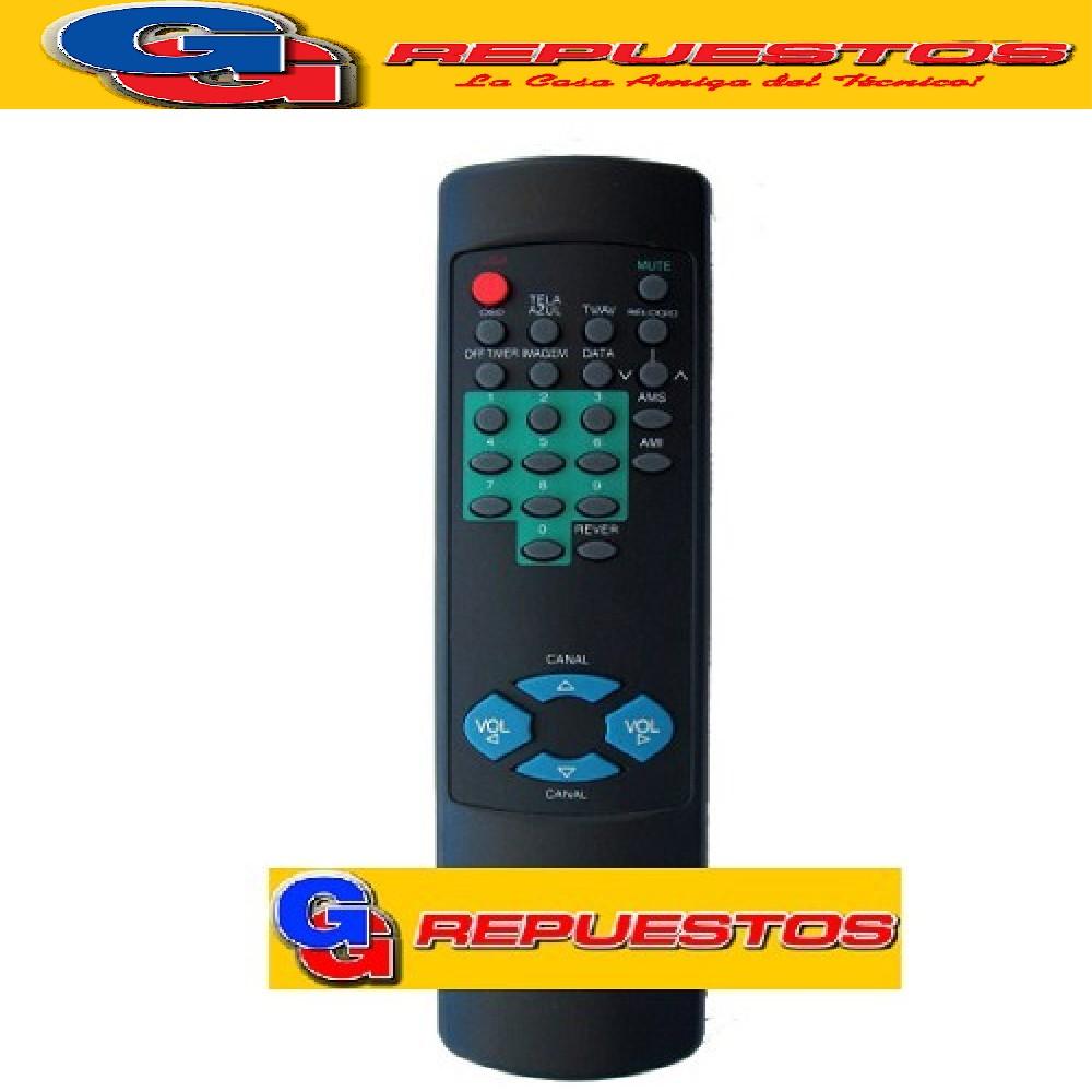 CONTROL REMOTO TV SHARP  SILUETA 2622 MP1014