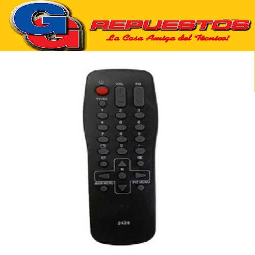 CONTROL REMOTO TV PANASONIC (2428)