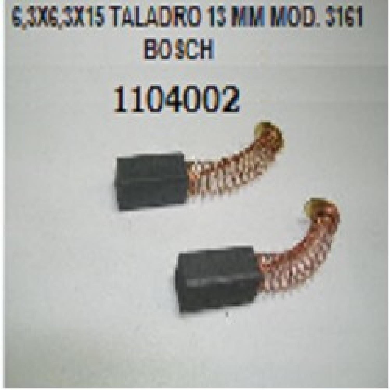 CARBON 6.30X6.30X15/16 TALADRO 13 mm MOD.3161 BOSCH EL PAR