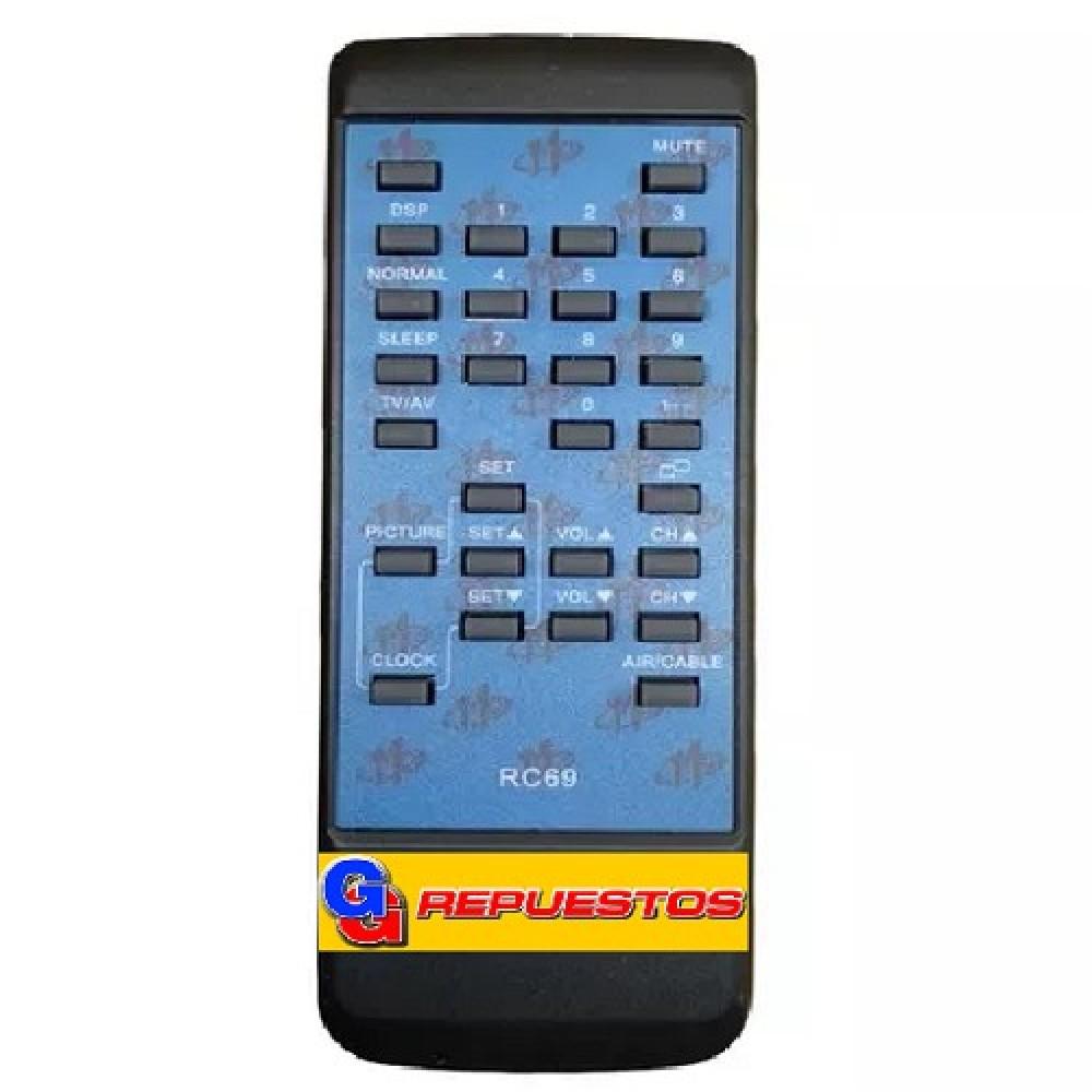 CONTROL REMOTO TV BROKSONIC RC69 2652