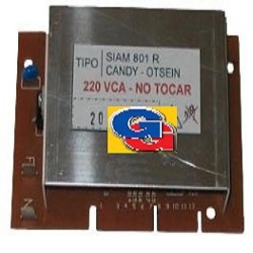 PLAQUETA MOTOR SIAM 801R-PEABODY WTL1000 BIO-CANDY ALISE 101ES 1 serie (hasta 9849)-CTI974TV-CT946T-OTSEIN