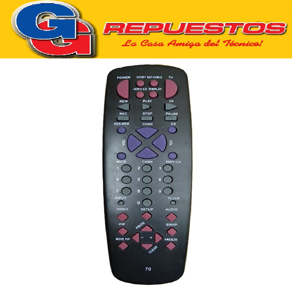 CONTROL REMOTO RCA 4 EN 1 2689