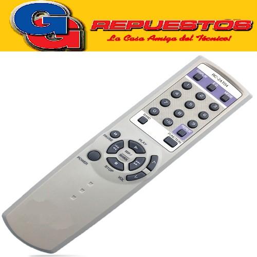 CONTROL REMOTO EQUIPO AIWA MUSICA 2466 RC-ZAT04