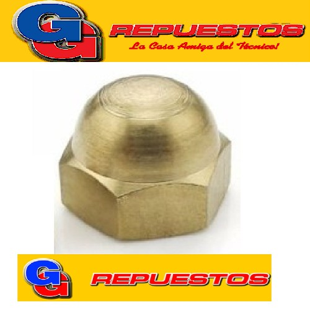TAPA CIEGA DE BRONCE 3/4 G Hp/tubo-de bronce-HEA33-