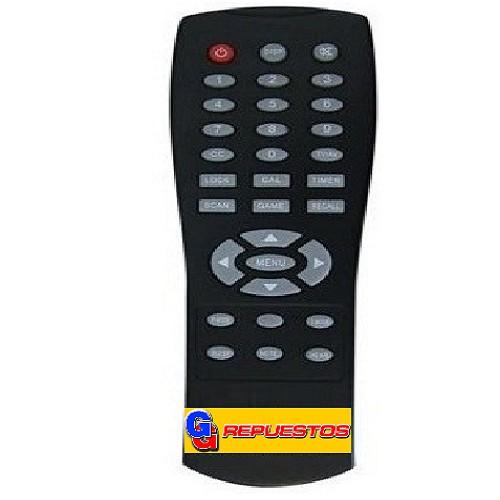 CONTROL REMOTO TV RANSER CHICO 3829