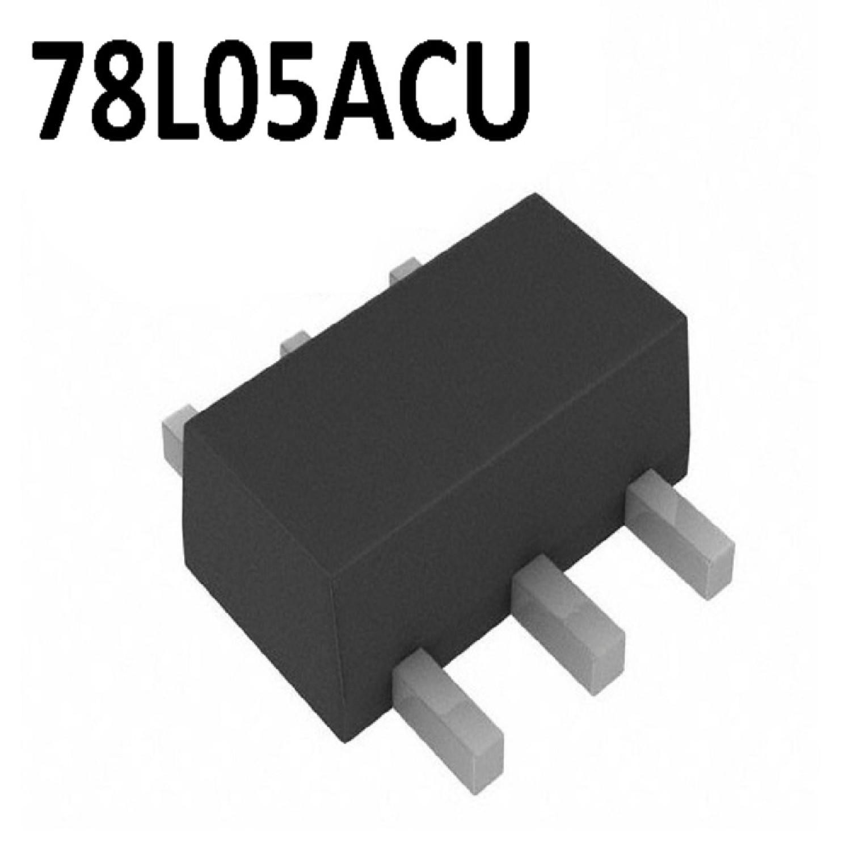 78L05ACU - REGULADOR POSITIVO 5V 100MA (SMD) (SOT-89)